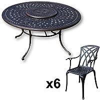 Amazon.fr : Table ronde Plateau - Salons de jardin ...