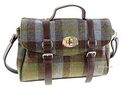 Glen Appin , Damen Satchel-Tasche Grün Col15