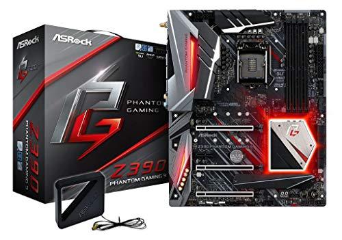 Asrock Z390 Phantom Gaming 9 Socket 1151 - Scheda Madre Intel Socket 1151 Core I, 90-Mxb8Z0-A0Uayz