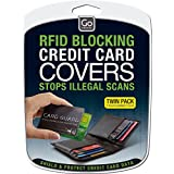 Go Travel RFID Credit / Debit Card Protection Guard - 2 Cards per Pack