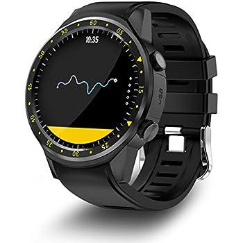 Relojes Deportivos para Hombres y Mujeres, Tarjeta TF, Pantalla 1,3 Pulgadas Bluetooth 4.0 Reloj con GPS y Brújula, Compatible con iOS y Android, ...