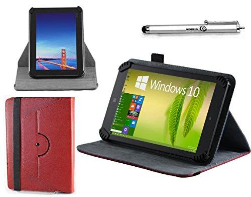 Navitech ifatabstwfeen Tablet-Schutzhülle, Lenovo Tab 2 A7, rot