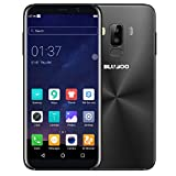 BLUBOO S8 Sim-Free Smartphone, Dual Sim, 5.7-Inch Full-View Display Android Mobile Phone, 3GB RAM+32GB ROM - Schwarz