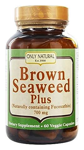 Only Natural - Brown Seaweed Plus 700 mg. - 60 Vegetarian Capsules