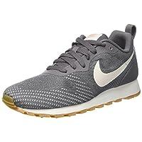 Nike Women's Md Runner 2 Eng Mesh Low-Top Sneakers, Grey, 5.5 UK