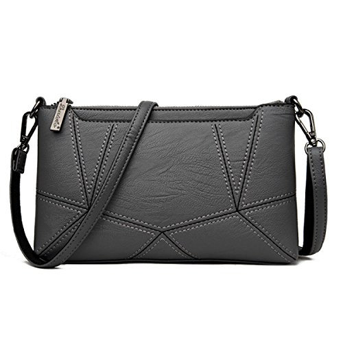 Dame Clutch Weibliche Stitching Korean Fashion Einfache Wild Messenger Bag Umhängetasche E