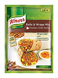 Knorr Rolls & Wraps Mix Chicken Chilly Garlic, 50g