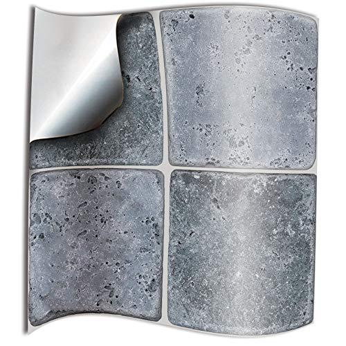 24x piedra gery Lámina impresa 2d PEGATINAS lisas