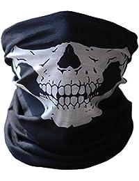 Bandana braga de cuello. Diseño de Calavera de ghost airsoft moto