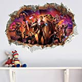 Wandaufkleber Dekoration Superheld Wandbild Schlafzimmer Kinderzimmer Avengers Wandaufkleber