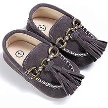 Bebé Zapatos, OverDose Bebé Zapatos De Cuna Linda Cuna Deslizamiento En Los Zapatos De Confort Mocasines Soft Prewalker Anti-Slip Zapatos