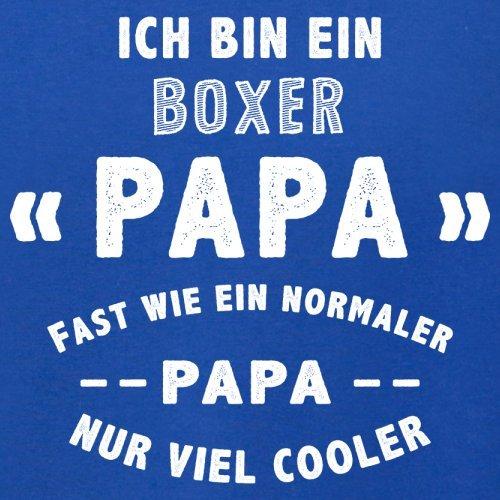 Ich bin ein Boxer Papa - Herren T-Shirt - 13 Farben Royalblau