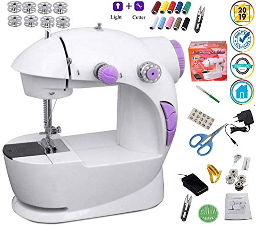 Vivir Portable Mini Sewing Machine for Home (Ming H -...