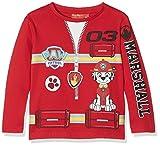 Nickelodeon Paw Patrol Uniform, Sweat-Shirt Garçon, Red, 3-4 Ans