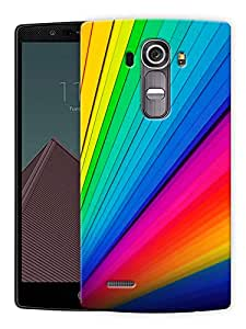 """Humor Gang Colors And Patterns Of Lines Printed Designer Mobile Back Cover For """"LG G4"""" (3D, Matte Finish, Premium Quality, Protective Snap On Slim Hard Phone Case, Multi Color)"""