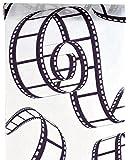 cama24com Tischläufer Movie Film Filmrolle Vlies 5m x 30cm Tischvlies Tischband Deko-Stoff Palandi®