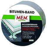 MEM Bitumen-Band, 10 cm x 1 m, alu, 500486
