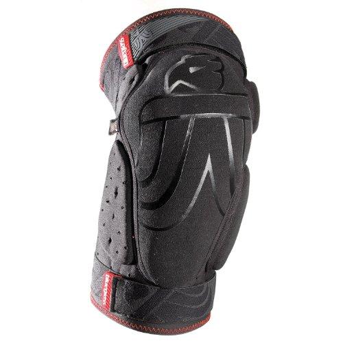 Knieschützer Bobcat D30 Unisex black/red M