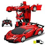 #8: Transformer Rc Ferrari Car Robot Remote Control Transforming Autobot