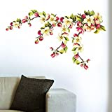 Wall Sticker For Bed Room Kids Room Living Room Hall Walls 'My Blossom Love' Wall Sticker (PVC Vinyl, 70 Cm X 50 Cm) By FRIENDS OFFICE AUTOMATION