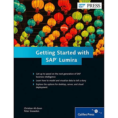 Getting Started with SAP Lumira (SAP PRESS: englisch)