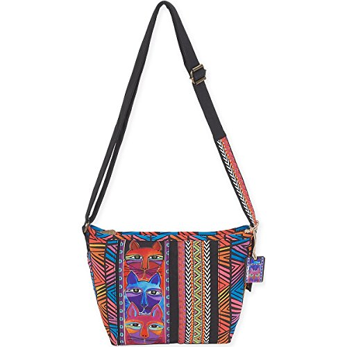 laurel-burch-stacked-whiskered-laurel-burch-totes-acrylic-multicolour