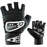 C.P. Sports Profi-Grip-Bandagen-Handschuh - farbig, bunt, Fitness - Handschuh weiß M
