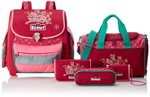 Scout Buddy Set Kinder-Rucksack, Rot - 4