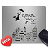 Onelee Disney Mary Poppins rectangulaire Tapis de souris - Gaming Mouse Pad
