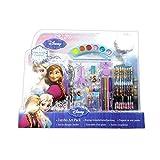 33 teiliges Disneys Frozen Creativset / Malset / Ausmalset / Bastelset mit Anna und Elsa