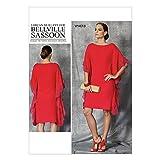 Vogue Patterns V1473 Misses' Dress, A5 (6-8-10-12-14)