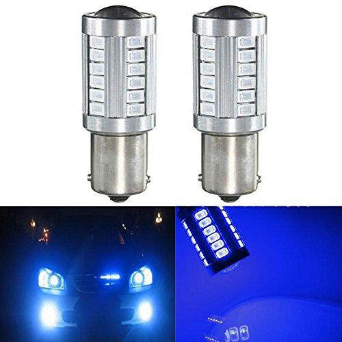 Preisvergleich Produktbild katur 2 1156 BA15S 1141 7056 5630 33-smd blau 900 Lumen 8000 K Super Hell LED Turn Tail Bremse Stop Signal Licht Lampe Birne 12 V 3, 6 W
