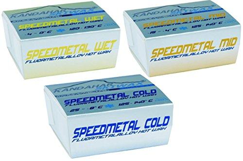 KANDAHAR SPEEDMETAL MIX Racing hochfluoriertes Rennwachs Ski Wachs Wax -25° C bis -0 ° C