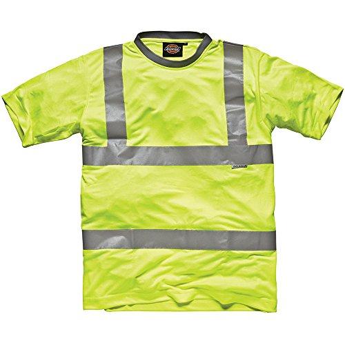 Dickies Hochsichtbares T-Shirt gelb YL XL, SA22080