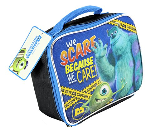 Image of Disney Pixar Monsters University - Mike & Sully - We Scare Insulated School Lunch Bag