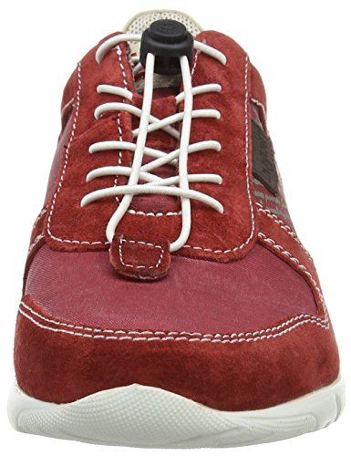 Bugatti K190436, Sneakers Basses homme Rouge (rot / braun 313)