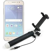 DURAGADGET Palo Selfie (Selfie-Stick) para Smartphones Samsung Galaxy Note 2 / 3 / 4 y 5 / S7 / A9 / J3 / J5 / J7
