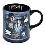Unbekannt 3-D Relief - Henkeltasse groß - Hobbit Gollum - Herr der Ringe - Porzellan / Keramik - Trinktasse mit Henkel Tasse Becher Porzellantasse Tassen für Kinder Mädchen Jungen Mittelerde