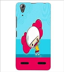 PrintDhaba Cartoon D-5866 Back Case Cover for LENOVO A6000 (Multi-Coloured)