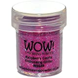 WOW Raspberry coulis-Regular, Polvo de Repujado, 5x 3x 3cm
