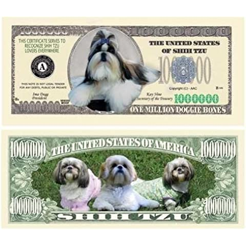 Shih-Tzu Million Dollar Bill Case Pack 100