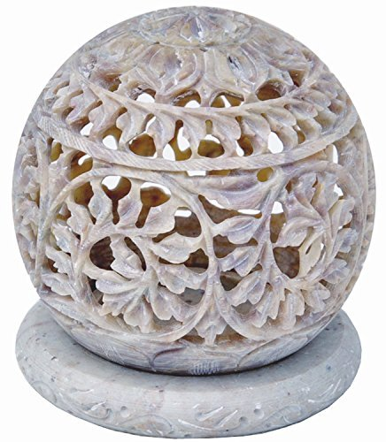 christmas-thanksgiving-gifts-starzebra-soapstone-tealight-candle-holder-sphere-shaped-with-intricate