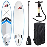 """F2 SUP FRESH 2017 STAND UP PADDLE BOARD 10,5"""" LADENMUSTER BOARD KOMPLETT"""