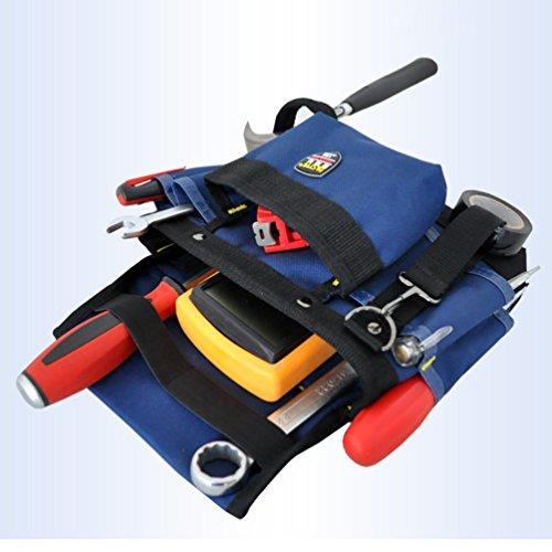 Heheja Multifunktions Werkzeugtaschen Taillenbeutel für Wartungspersonal Woodworking Elektriker's Beutel Als Bild