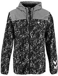 Hummel Brion Zip–Chaqueta para hombre, Black, M, 36–884–2001