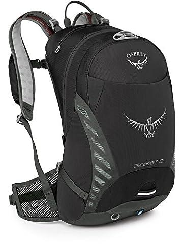Osprey Escapist Fahrrad-Rucksack, 25 Liter, Schwarz