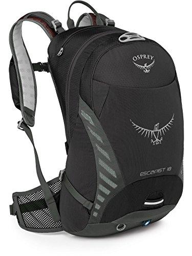 Osprey Escapist 25 - Mochila de marcha con cierre de cremallera, color negro
