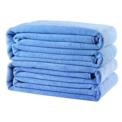 QYQ Tadellose Textilien - Professionelle Mikrofaser-Reinigungstücher Aus Mikrofaser Superweich, Extra Dick Und Sehr Saugfähig Large Microfiber Towel (2 Strips)