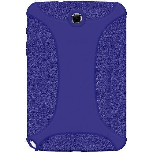 Amzer Exklusive Silikonhülle für Samsung Galaxy Note (20.32 cm) GT, N5100/N5110, Blau