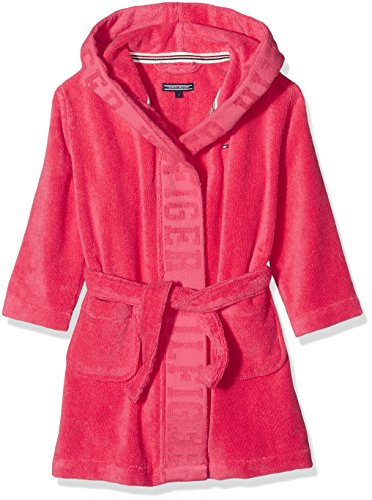 tommy-hilfiger-girls-hooded-bathrobe-red-rot-rouge-red-612-8-years